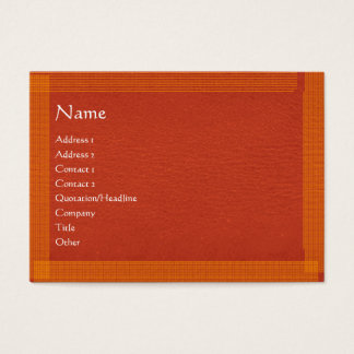 Brown Stylish Border n Surface Business Card
