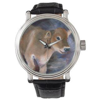 Brown Swiss Calf Watch