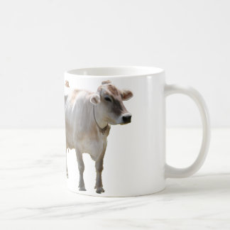 Brown Swiss Cows Coffee Mug