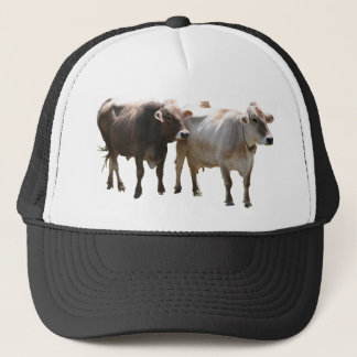 Brown Swiss Cows Trucker Hat