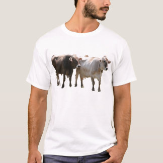 Brown Swiss T-Shirt