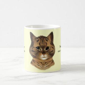 Brown Tabby Cat Quote Gift Mug