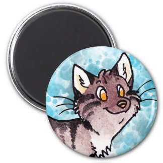 Brown Tabby Kitty Magnet