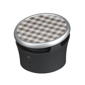 Brown Table Cloth Pattern Bluetooth Speaker