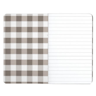 Brown Table Cloth Pattern Journal