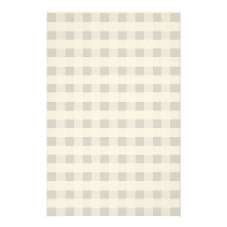 Brown Table Cloth Pattern Stationery