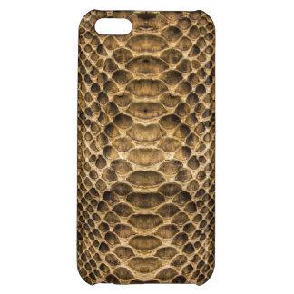 Brown Tan Snake Skin iPhone 5C Cover