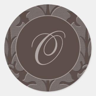 Brown Tapestry Sticker