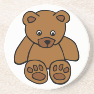 Brown Teddy Bear Coaster