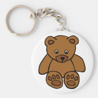 Brown Teddy Bear Keychains