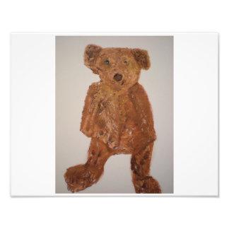 Brown Teddy Bear Print Photo Print