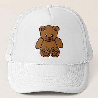 Brown Teddy Bear Trucker Hat