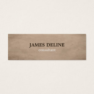 Accounting services business cards business card printing zazzle uk brown textured consultant business card reheart Images