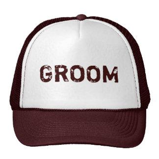 Brown theme simple Groom hat