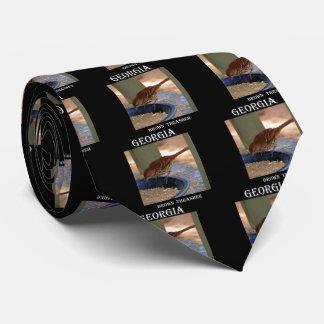 Brown Thrasher (Georgia) Tie