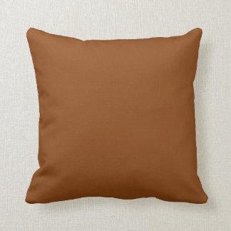 """Brown Throw Pillow - """"Customisable"""""""