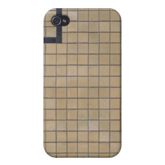 Brown Tile Design 01 Case For iPhone 4