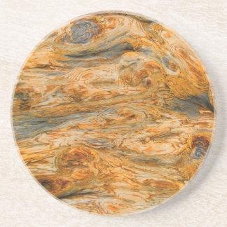 Brown Tones Natural Tree Bark Pattern Texture Coasters