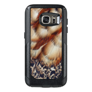 Brown Tragopan Feather Abstract OtterBox Samsung Galaxy S7 Case