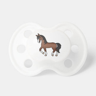 Brown Trotting Cartoon Horse Dummy