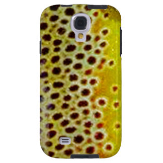 Brown Trout by Patternwear© Fly Fishing Galaxy S4 Case