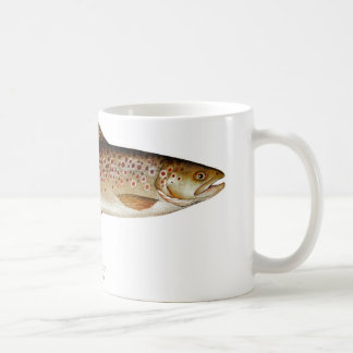 Brown Trout Fish Coffee Mug