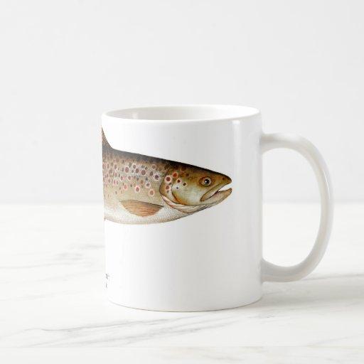 Brown Trout Fish Coffee Mug