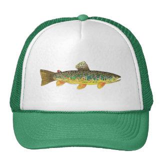 Brown Trout Fishing Cap