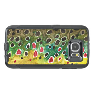 Brown Trout Fishing, Ichthyology OtterBox Samsung Galaxy S6 Case