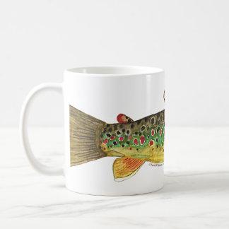 Brown Trout Fishing Mug