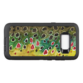 Brown Trout Fly Fishing, Ichthyology OtterBox Defender Samsung Galaxy S8+ Case