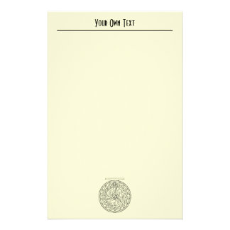Brown Trout Fly Fishing Ichthyology Salmo Trutta Stationery