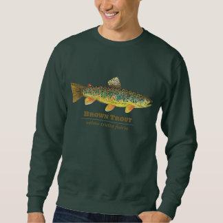 Brown Trout Latin Ichthyology Sweatshirt