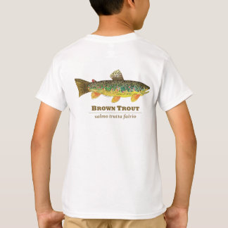 Brown Trout Latin Ichthyology T-Shirt