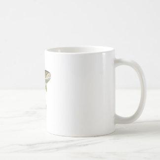 BROWN TROUT BASIC WHITE MUG