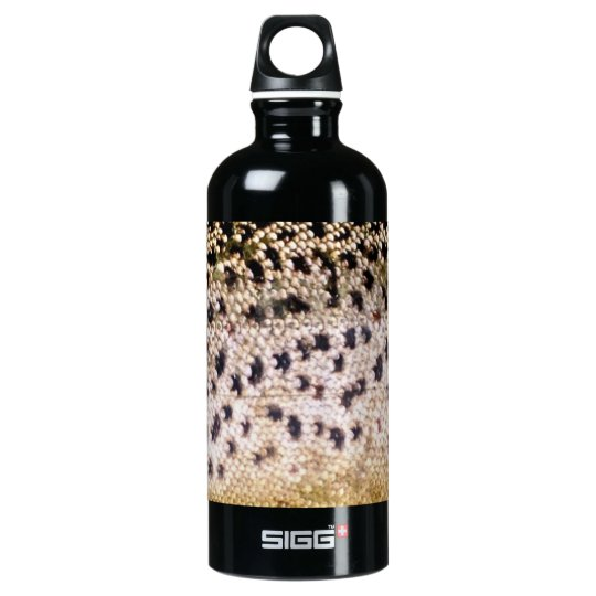 Brown Trout Scales Water Bottle