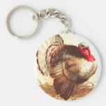 Brown Turkey Key Chains