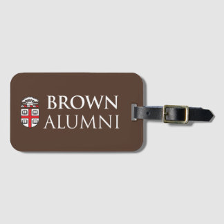 Brown University Alumni Luggage Tag