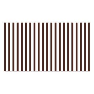 Brown Vertical Stripes Business Card