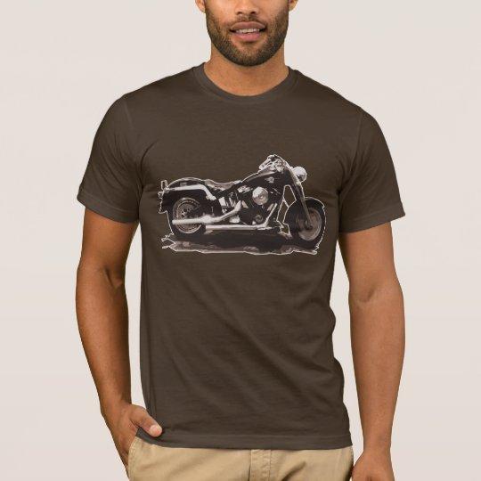 Brown Vintage Classic Bike T-Shirt