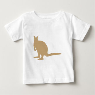 Brown Wallaby. Baby T-Shirt