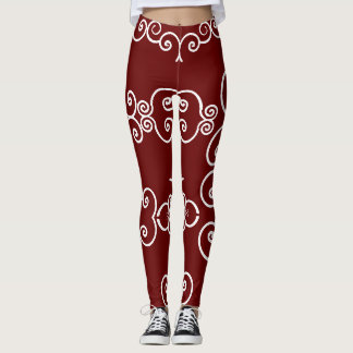 Brown Wearable Art 4Elle Leggings