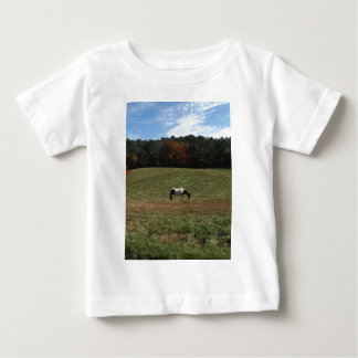 Brown & White horse Baby T-Shirt