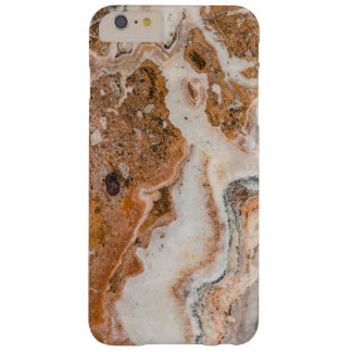 Brown & White Marble Swirls Barely There iPhone 6 Plus Case