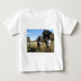 Brown &White, Painted Horse, Queen Ann Lace flower T-shirts