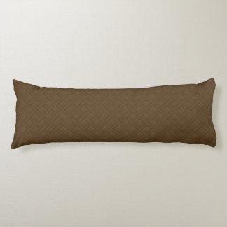 Brown Wicker Look Body Cushion