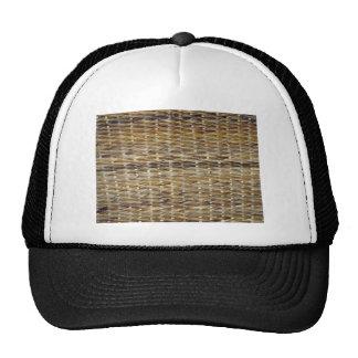 Brown Wicker Texture Cap