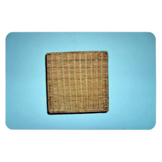 Brown Wicker Texture Vinyl Magnet