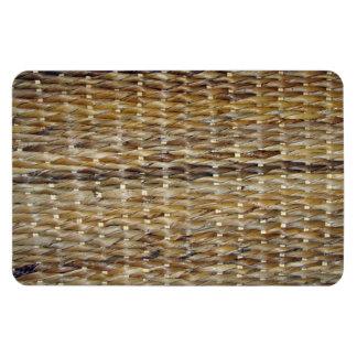 Brown Wicker Texture Flexible Magnet