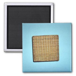 Brown Wicker Texture Magnet